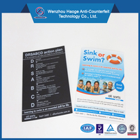 Promotional double side printed paper fridge magnet