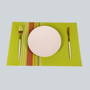 New selling trendy style table dish mat , dirt resistant coasters for drinks