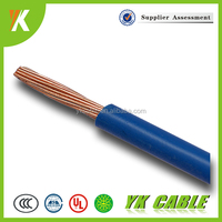 300/500V Electric PVC insulated 2.5mm 2mm 0.5mm copper wire