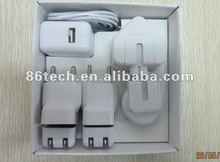 World travel charger Kit For iPhone/iPod/iPad( 1A )