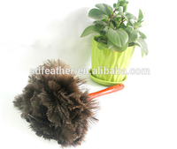 wooden handle ostrich feather duster cheap duster for sale