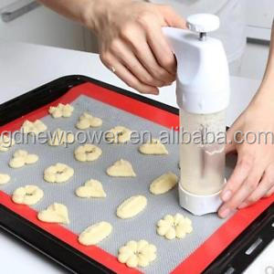 Cookie Biscuit Making Maker Pump Press Machine Kitchen Decorating Gun for Amazon and Ebay