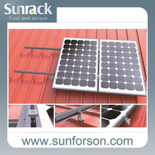 L Feet Tin Roof Solar Panel Mounting Support System