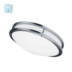 120v Yidi modern round ceiling double ring light led dimmable light with stock in USA
