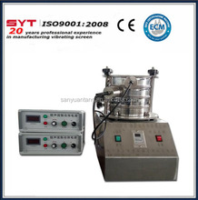 Soil analysis lab test vibrating sieve shaker