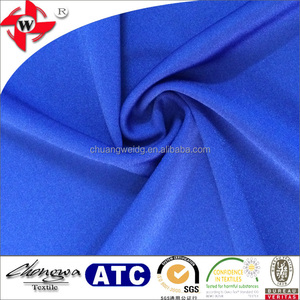 tricot shiny tight elastine anti-uv fabric for lycra surf t-shirt