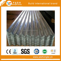 low price galvanized corrugated steel roofing sheet, gi corrugated roof sheet