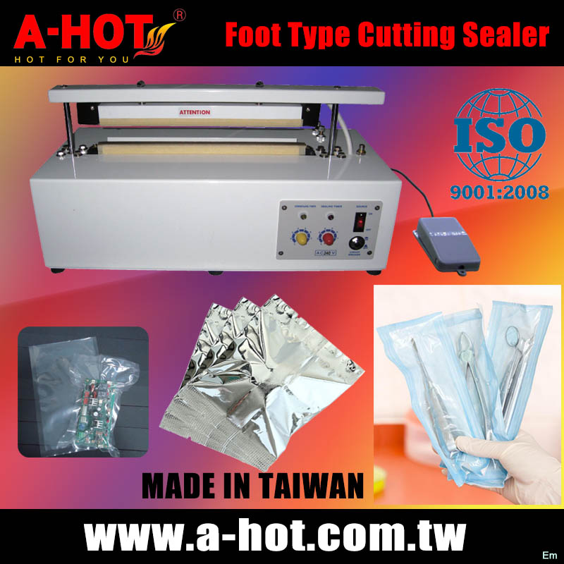 Foot Type PE PP PVC OPP BAG Sealer