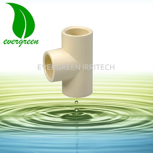 Price PVC pipe fiting equal tee for water supply