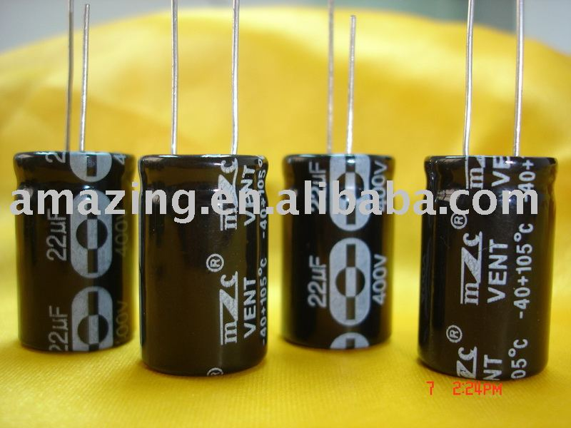 5000H alum.electrolytic capacitors for energy saving lamps