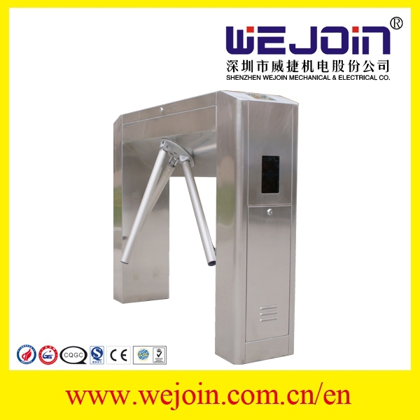 RFID card reader bi-directional Full-automatic tripod turnstile&3 arm gate reader