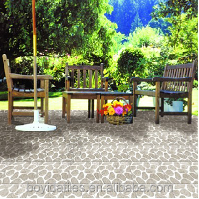 China No Slip Garden Ceramic Floor Tiles Price in Kerala Design 30X30CM 40X40CM