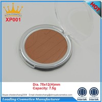 High quality brightening customized pressed powder compact branded powder
