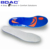 shock proof tpe gel insole slight arch insoles for sports shoe