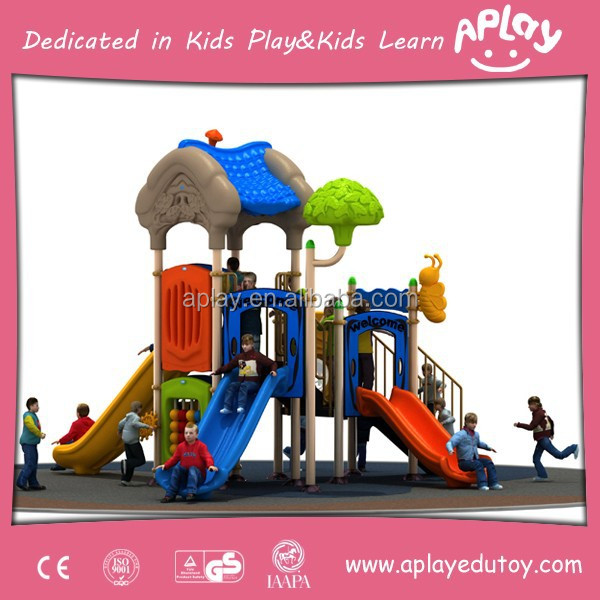 Children Used Commerial Outdoor Wooden Playsets