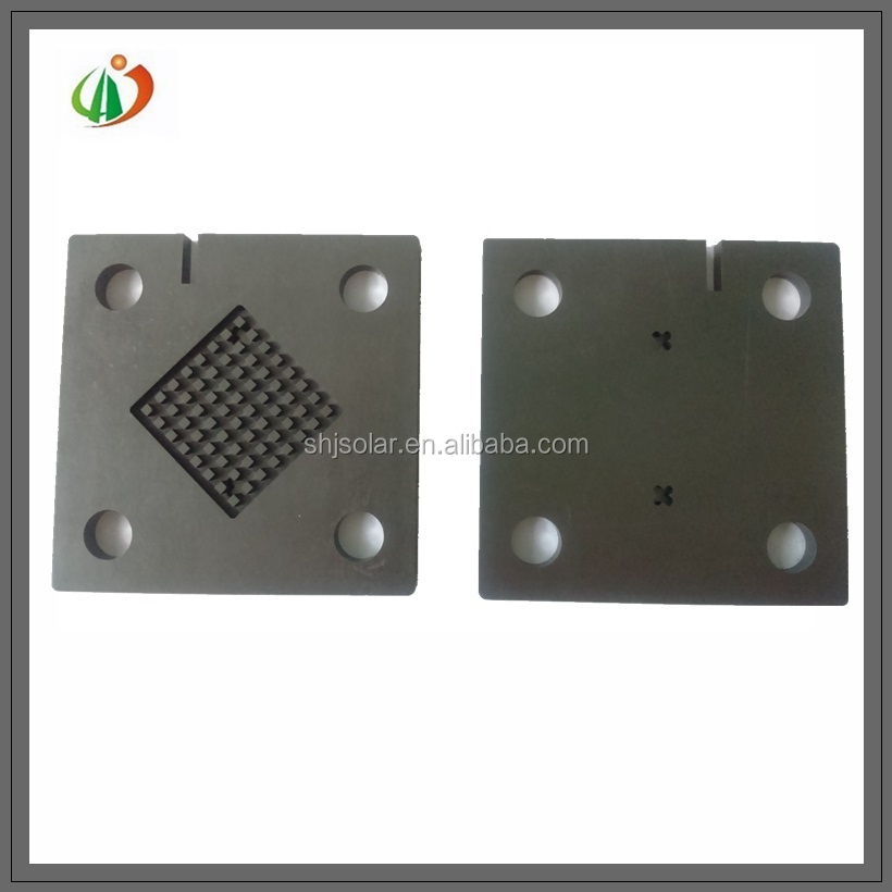 Fuel cell graphite anode plates electrolysis