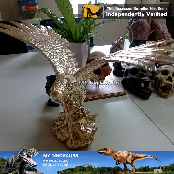My Dino-Flying Eagle sculpture fiberglass resin eagle statue