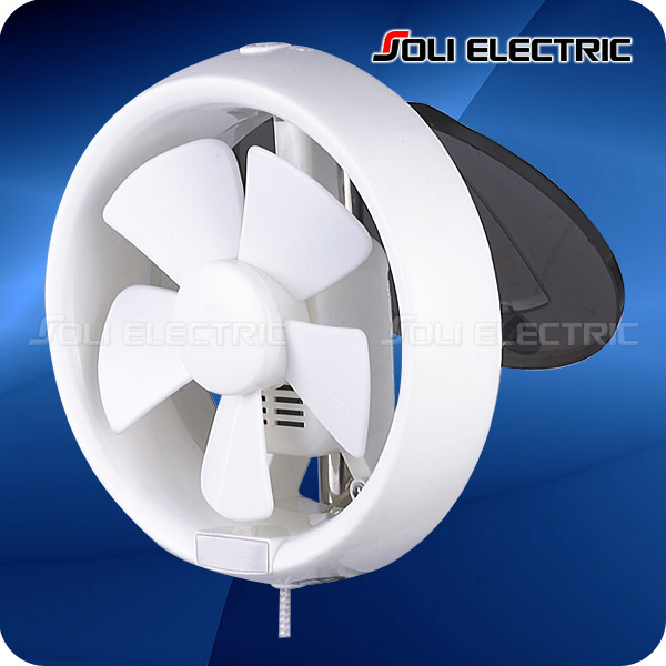 6, 8 inch Round Bathroom Window Mounted Exhaust Fan