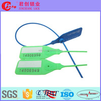 Asset, facility, window green Plastic Security Seals for Supermarket