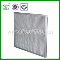 G2 Primary efficiency air filter used in High temperature ventilation systems(Manufacturer)