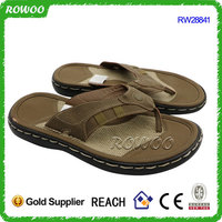 hemp fabric plate rubber slipper handmade man chappals