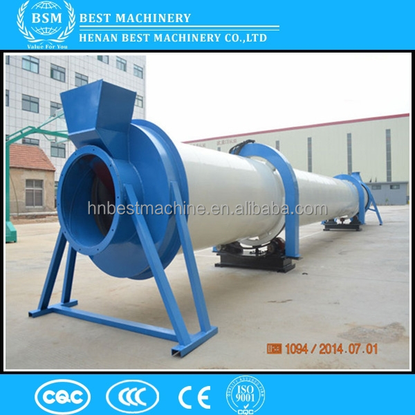 BSM good supplier wood sawdust/wood chips rotary drum dryer machine/dryer