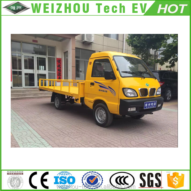 Pure Electric Pickup Truck For Delivery EEC Certified Small Electric Truck