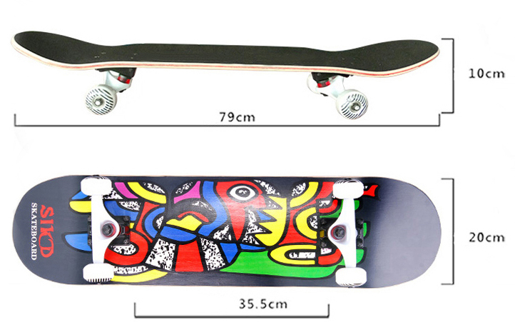 OEM brand high quality Skateboard manufacturer custom skate board
