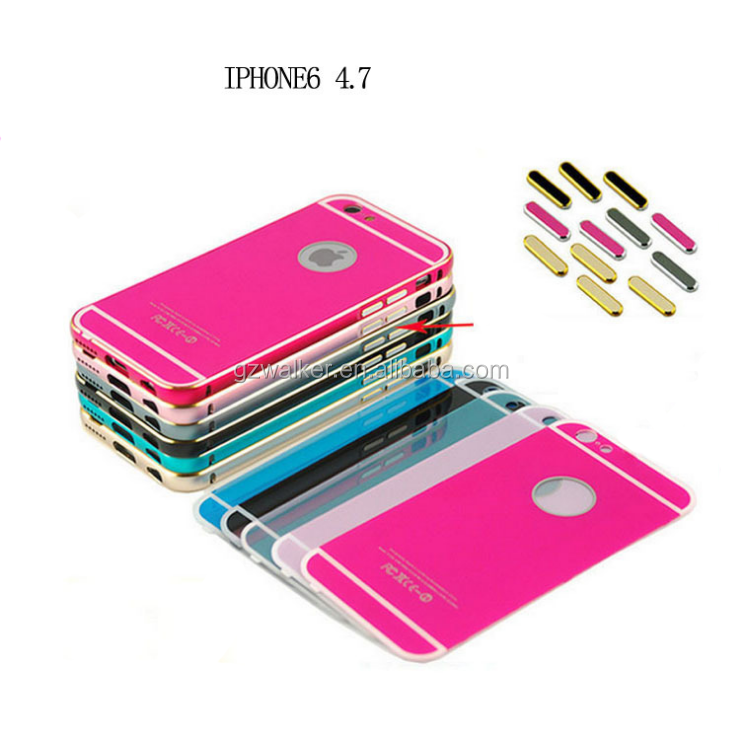 Colorful 4.7 Inch Wholesale Cell Phone Case with Design Mobile Phone Back Cover for Iphone 6