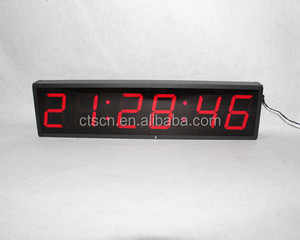 Widely Used Indoor Digital Wall Clock LED Display Digital Display Timer