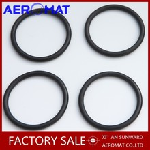 Aeromat Black color low price EPDM rubber o ring gasket/Silicone O Ring Xi'an Shaanxi