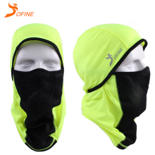 Custom Winter Outdoor Sports Unisex Windproof breathable motorcycle Ski Skull hood hat Full Face Mask Balaclava for men women
