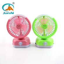 Wholesale built-in 18PCS SMD rechargable fan with light fan lamp with low MOQ