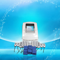 650nm +940nm Diode Laser slimming machine with 12 Paddles