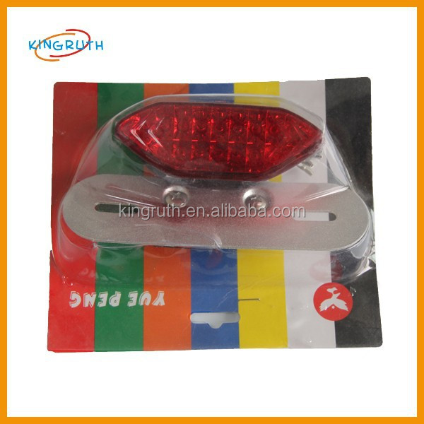 2017 good qulity dirt pit bike Motorcycle LED tail light Red