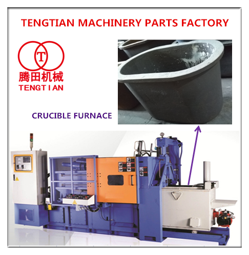 customized hot chamber die casting machine cricible furnace