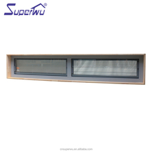 AU & NZ standard double glazed aluminium windows aluminum alloy removable window with built in blind