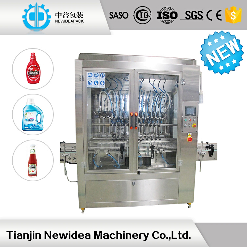 ND-P-8 Tianjin Automatic Liquid Packing Machinery for Toilet Cleaner