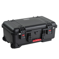 IP67 Waterproof heavy duty gun case carry case for outdoor carrying