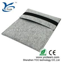 Wholesale hot selling comfortable protective woolen cover cases for ipad 3/android tablet/PDA/laptop