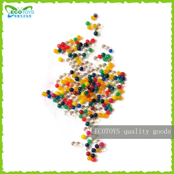 Multicolor crystal soil Orbeez Water Gel Beads Mixed color in bulk