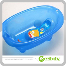 Hot sale transparent plastic bath tub baby care products for newborn baby
