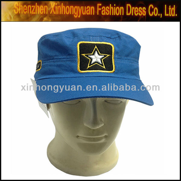 New style fashion military weave caps