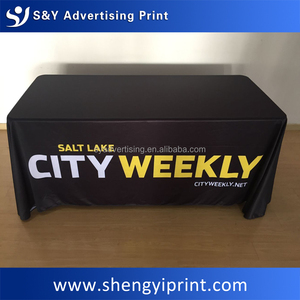 Advertising Custom Table Cloth Trade Show Wholesale