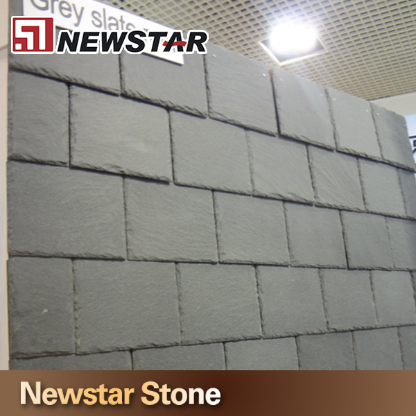 Newstar rectangle natural grey roofing tiles