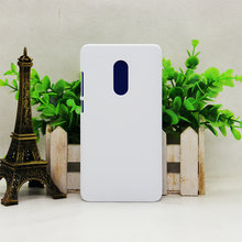 wholesale 3D Printable Sublimation polymer printable polymer phone case /Sublimation Blank case for red mi note4