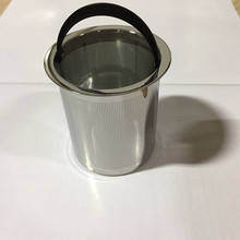 Silver Etched Food Grade 304 Stainless Steel Teapot Strainer Filter Used For Office Tea Cup