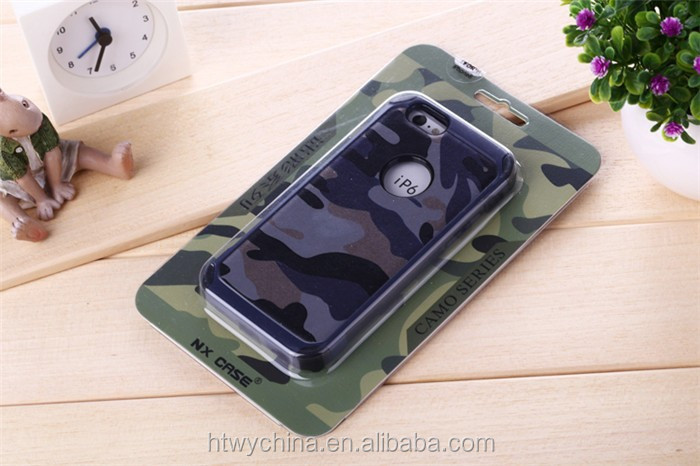 Cool pc tpu camouflage pattern phone cases for samsung s6/for samsung s6 edge