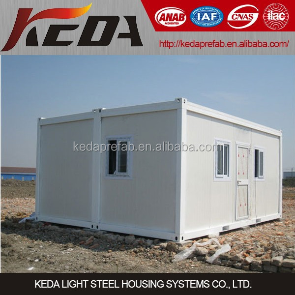Mobile Site Office Flat Pack Home Container House
