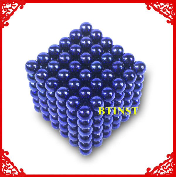 Supply N35 0.78ib neodymium magnetic ball 216 5mm sphere kids toy